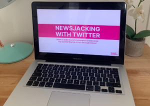 PR and social media newsjacking webinar